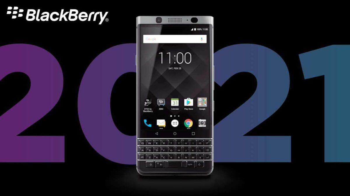 BlackBerry tiene planes para 2021